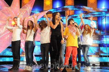 Международный детский конкурс новая волна 2009