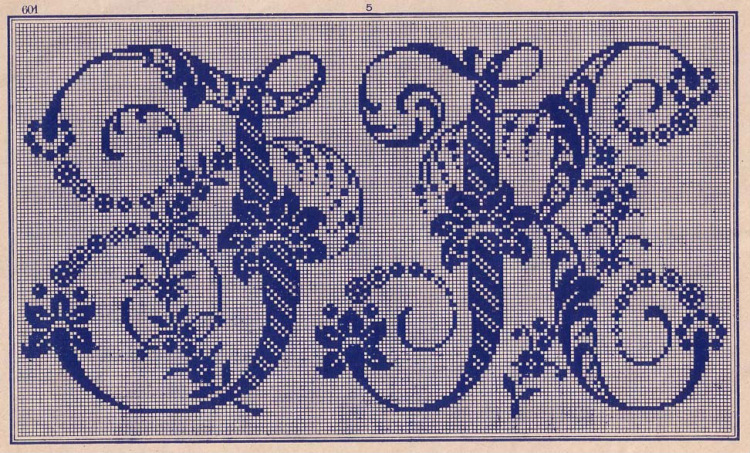 Красивые буквы для вышивки крестом схемы