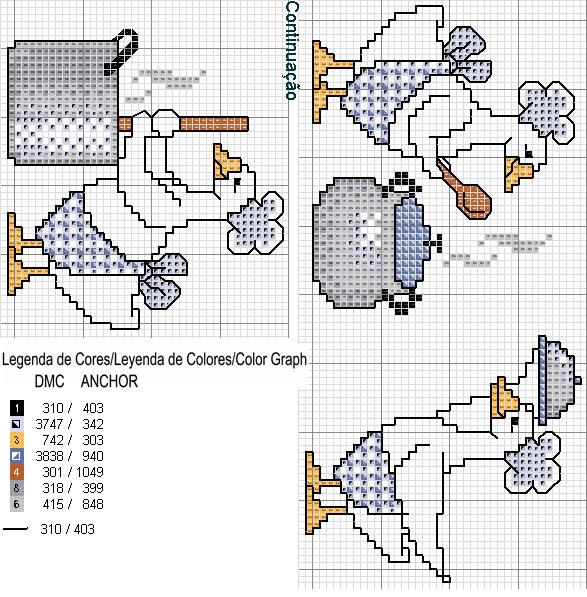 Схемы для вышивки крестиком для полотенец 45