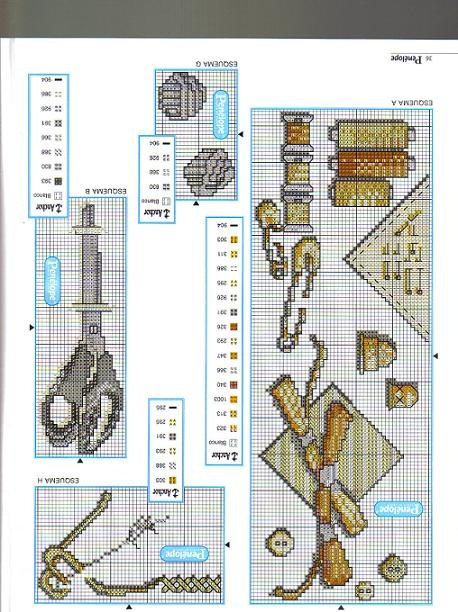 Схемы вышивки по теме рукоделие