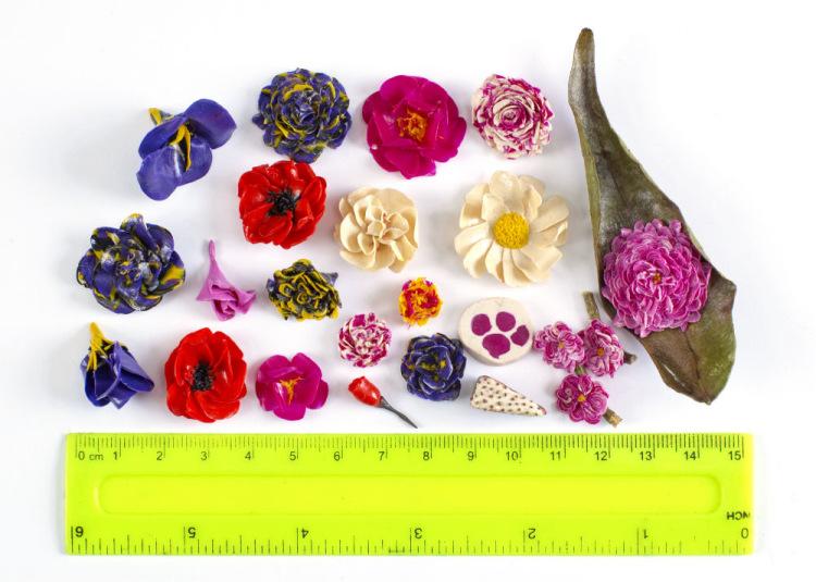 Gallery.ru / Фото #1 - Пластилиновые цветы - sito4