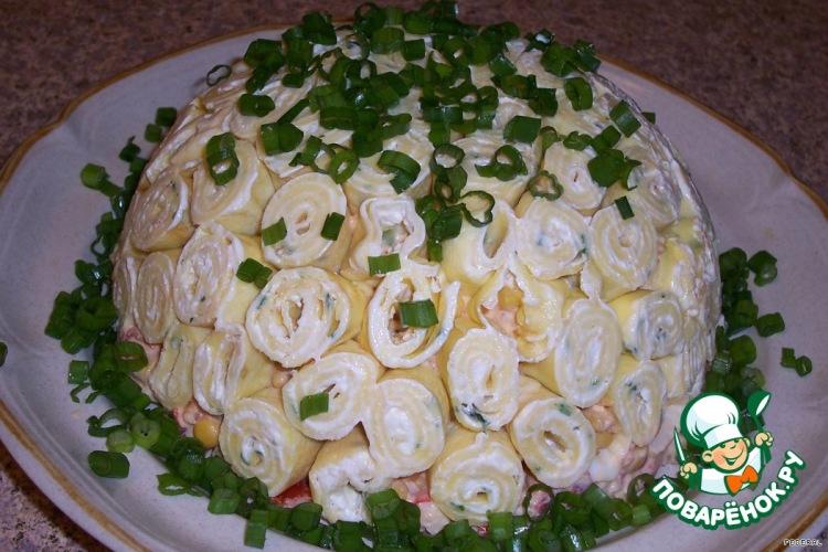 вкусные но не сложные салаты рецепты с фото