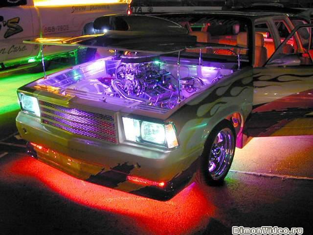 Своими руками светодиодный тюнинг к авто