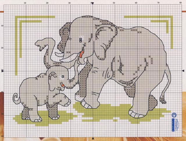 Семь слоников вышивка отзывы 10