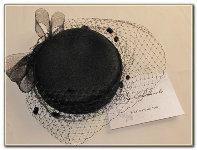 Как сшить шляпку-таблетку с вуалью 91