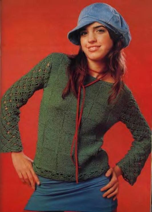 Модели Вязаных Пуловеров С Доставкой