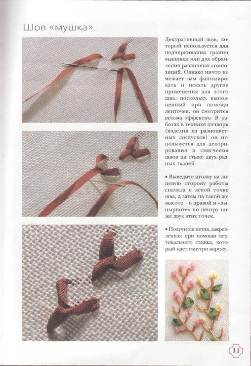Вышивка для начинающих пошаговое