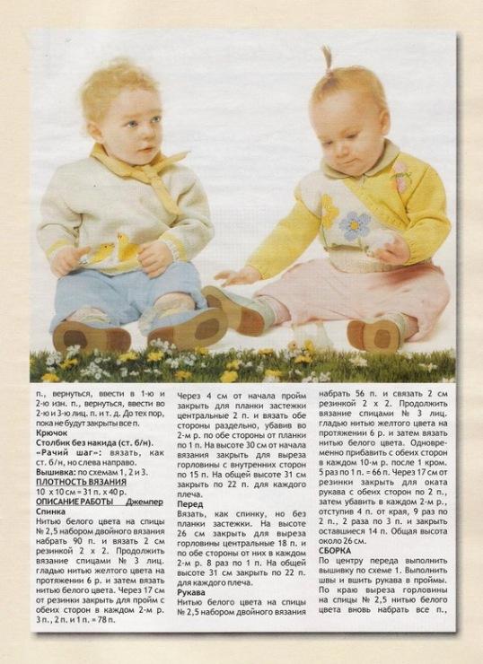 Сайты по вязанию для детей спицами 77