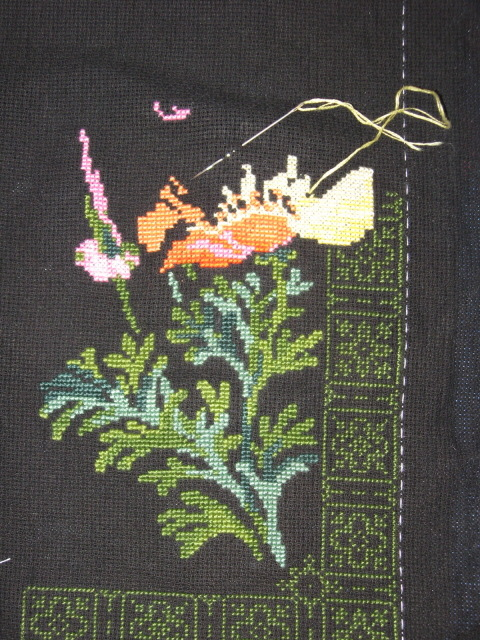 Схема вышивки калифорнийский мак риолис 87