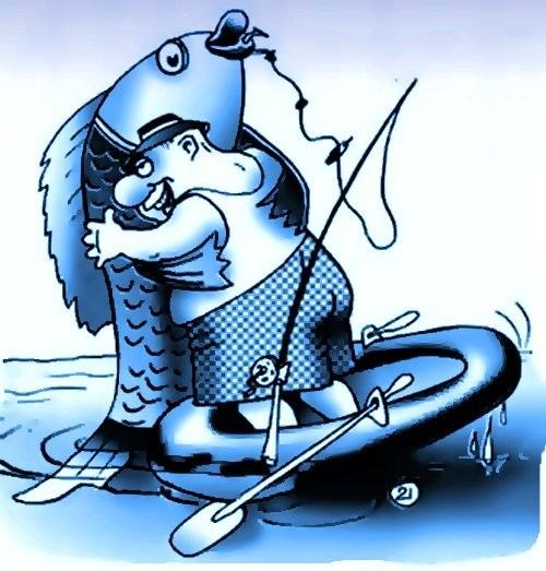 прикольная сценка про рыбака