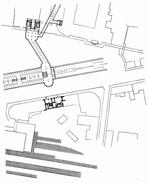 Комсомольская радиальная схема станции