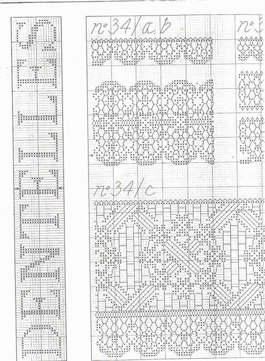 Вышивка крестом белое кружево схемы